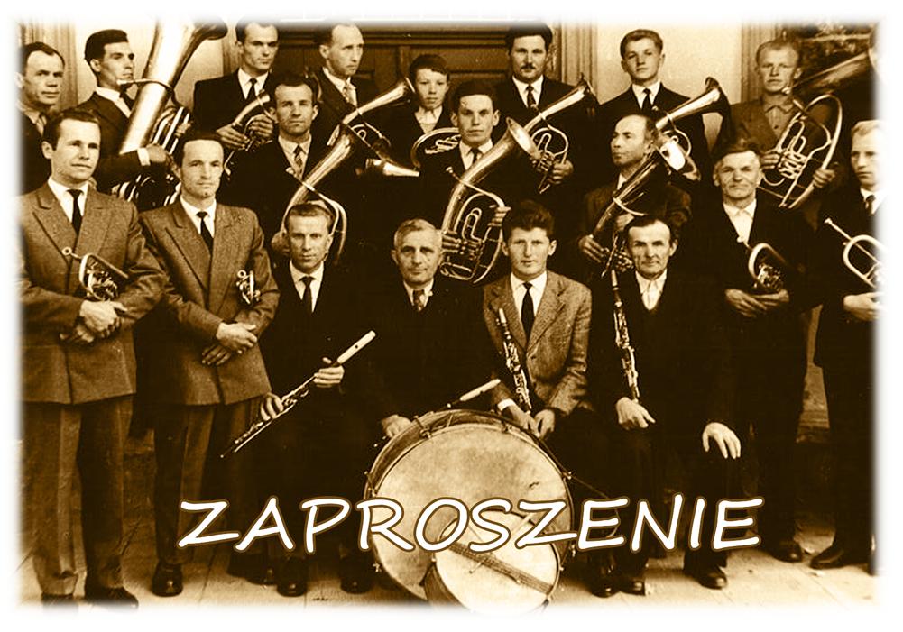 Zaproszenie na jubileusz 70-lecia Orkiestry Dętej z Siołkowej